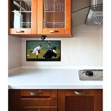 lovable under kitchen cabinet tv design ideas