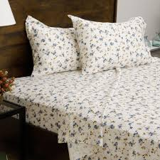 Floral Print Cotton Blend Sheet Set - Free Shipping Today - Overstock.com -  11200815