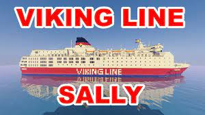 She was built in 1980 as the viking sally for viking line. M S Viking Line Viking Sally 1980 1990 Minecraft Map