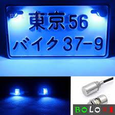 12v Blue Light Details About 12v Led Motorcycle Car License Plate W Screw Bolt Light Bulb Lamp Blue Light