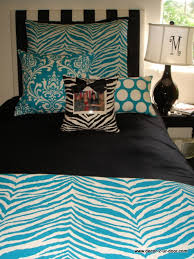 Blue Zebra Print Bedroom Ideas 2