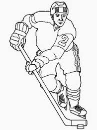 Small Picture Free HOCKEY Crayola Coloring Page For the Kids Pinterest