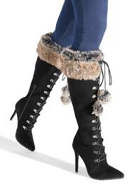 Perpetua Faux Fur Boot