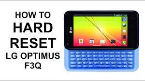 How To Hard Reset LG Optimus F3Q ...