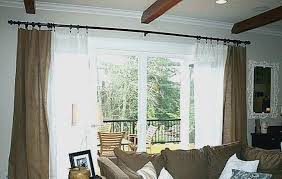 pictures of curtains over vertical blinds new how to hang curtains over sliding glass doors with