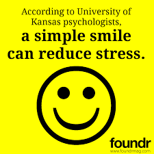 foundr smile reduce stress