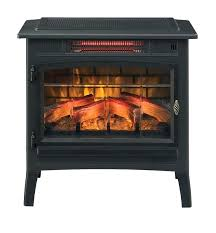grey infrared electric fireplace stove remote control duraflame portable heater manual instructions