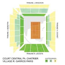 Philippe Chatrier Seating Chart Get Your French Open Tickets 2020 Village Roland Garros Paris