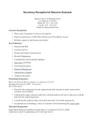 healthcare resume sample sample medical cover letter healthcare receptionist resume sample