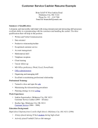 Resume Templates For Cashier Resume Examples For Cashier Positions Resume For Study Resume 5