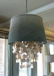 garage small chandelier shades winsome small chandelier shades 37 diy drum lamp shade dripping shell
