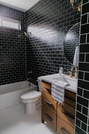 Black Tile Bathroom Styling with The Home Depot - Becki Owens