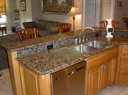 Kitchen Sinks For Granite Countertops Kitchen Cleanly Silver Kitchen Sink Also Brown Granite Countertop
