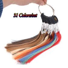 Hair Extension Color Chart Us 40 96 Human Hair Color Chart Extensions 31 Colors Hair Colour Chart Human Hair Color Ring Hair Extension Color Ring In Color Rings From Hair