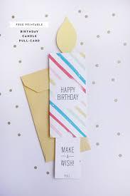 free printable photo birthday cards free printable birthday pull card