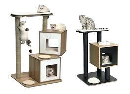 stylish cat furniture. Designer Cat Condo Furniture Idea Contemporary Ideas Modern Nice Design Sneak Peek New . Stylish