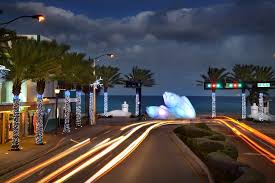 fort lauderdale beach light up the night eco fish holiday lights las olas fort lauderdale beach the beach is our backyard fort