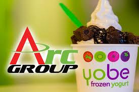 Frozen Yogurt Vending Machine Franchise Extraordinary ARC Group Announces Letter Of Intent To Acquire Yobe Frozen Yogurt