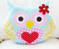 Owl Pillow Pattern Owl Sewing Pattern Owl Pillow Pdf By Hemccoy On Etsy She Has