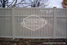 vinyl semi privacy fence. Modren Vinyl Semiprivate02 And Vinyl Semi Privacy Fence