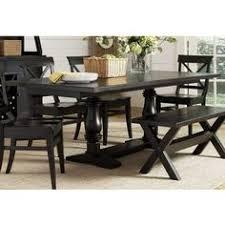 liberty furniture sundance lake 84x40 rectangular dining table in black