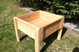 building a vegetable garden box on legs raised garden beds on legs interior decorating and home
