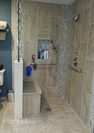 accessible bathroom design. Wonderful Bathroom This Bathroom Design Is Defined Not Only By Its Sleek Transitional Style  But Also The Accessible Nature Of Design The Dura Supreme Hanging Vanity  On Accessible Bathroom Design O