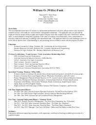 example short form resume short form april 1st 2015