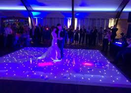 wedding lighting and dance floor hire cheshire