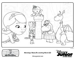 Doc Mcstuffins Printables Free Doc Coloring Pages Doctor Playroom