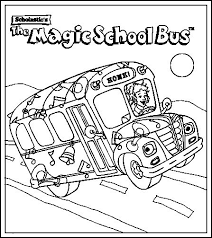 Small Picture magic school bus coloring pages the magic school bus coloring