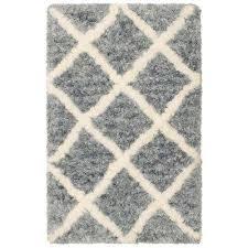 sophia grey diamond 4 ft x 2 ft area rug