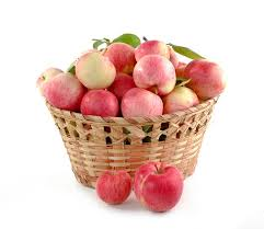 green and red apples in basket. apples, basket full, set, crop, food green and red apples in