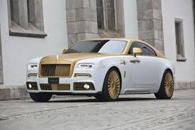 Mansory's Rolls Royce Wraith Palm Edition 999 Is Garnished In Gold