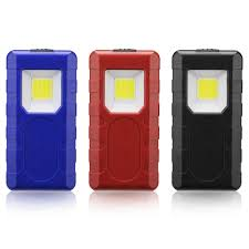 Magnetic Pocket Light 3w Portable Cob Pocket Work Light Magnetic Pen Clip Camping Lamp Car Inspection Flashlight