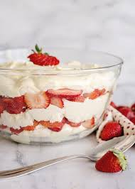 Strawberry Punch Bowl Cake Southern Plate