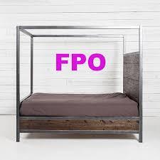 Farmhouse Canopy Bed – Vinta Wood