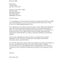 healthcare cover letter example nursing cover letter sample new grad healthcare nursing sample cover