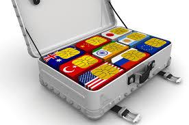 non steered global multi network roaming sim cards