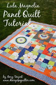 16-patch scrappy Quilt Tutorial - Diary of a Quilter - a quilt blog & Today I'm sharing a quilt tutorial using Amanda Herring's newest collection  Lula Magnolia over at the Riley Blake blog. This quilt uses the gorgeous  big ... Adamdwight.com