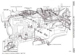 ford truck technical drawings and schematics section f heating 1972 factory underdash a c system