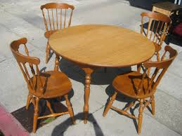24 elegant round wood kitchen table pics
