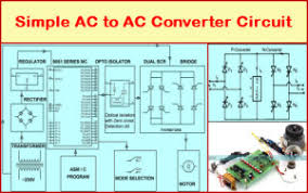 simple ac to ac converter circuit working simple ac to ac converter circuit diagram featured image
