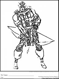 Small Picture Coloring Pages Within Hawkeye Coloring Pages itgodme