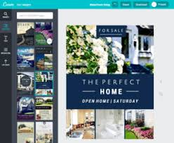 How To Make A Digital Flyer Create Real Estate Flyers With Canva