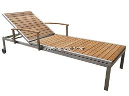 teak chaise lounge chairs. Stainless Steel Teak Outdoor Lounge Chair Chaise Chairs