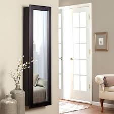 wall mirrored jewelry armoire