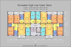 european high rise block
