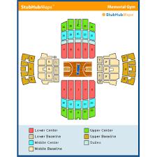 Vanderbilt Memorial Gym Seating Chart Vanderbilt Memorial Gym Events And Concerts In Nashville
