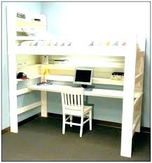 office bunk bed. Bunk Desks Bed With Desk Office Loft Beds Underneath And Stairs 3